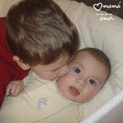 A Abraham le encantan los bebés